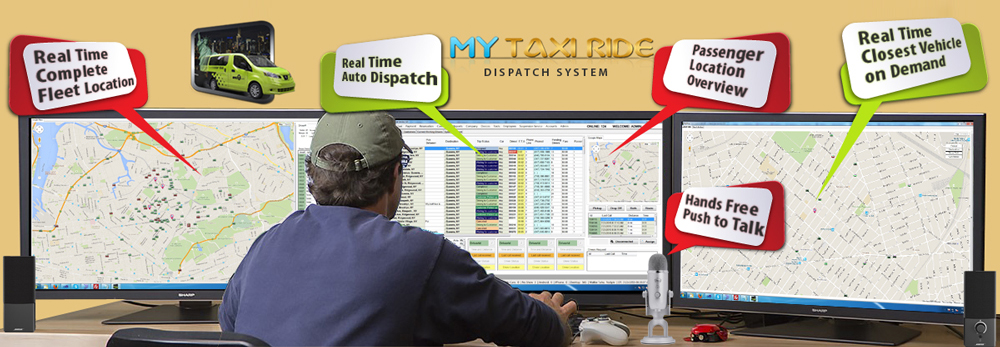 Taxi Dispatch Software - Taxify - Ride at the tap of a